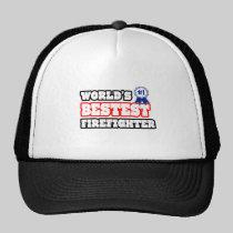 World's Bestest Firefighter Hats