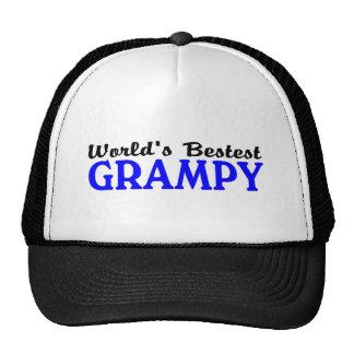 Worlds Bestest Grampy Trucker Hat