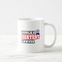 World's Bestest Lawyer Mug