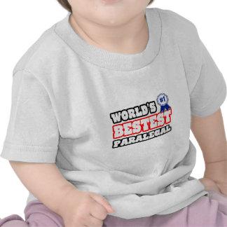 World's Bestest Paralegal T-shirt