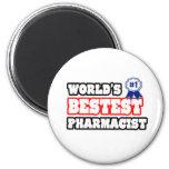 World's Bestest Pharmacist Magnet