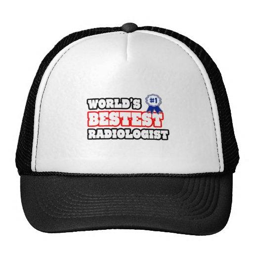 World's Bestest Radiologist Mesh Hat