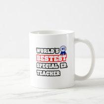 World's Bestest Special Ed. Teacher Coffee Mug