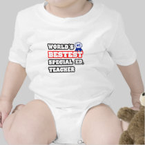 World's Bestest Special Ed. Teacher T-shirts
