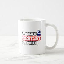 World's Bestest Surgeon Classic White Coffee Mug