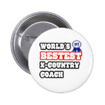 World's Bestest X-Country Coach Buttons