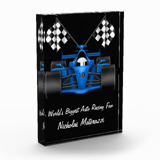 World's Biggest Auto Racing Fan Award