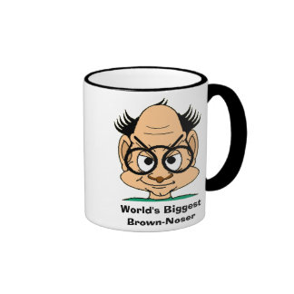 World's Biggest Brown-Noser Mug
