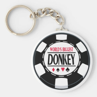 World's Biggest Donkey Keychain