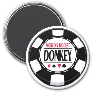 World's Biggest Donkey Fridge Magnets
