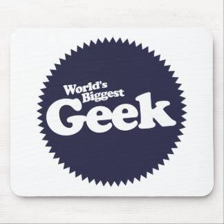 Worlds Biggest Geek Mouse Pad