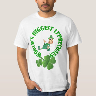 World's biggest leprechun funny,St Patrick's day Tee Shirt