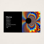 Worlds Collide - Fractal Business Card