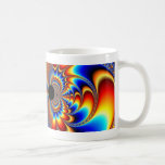 Worlds Collide - Fractal Coffee Mug