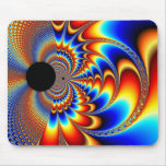 Worlds Collide - Fractal Mouse Pad
