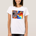 Worlds Collide - Fractal T-Shirt