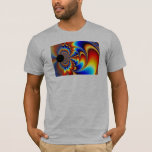Worlds Collide - Fractal T-Shirt