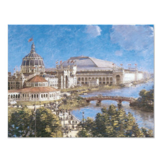 World's Colombian Exposition by Theodore Robinson 4.25x5.5 Paper Invitation Card