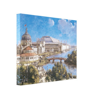 World's Colombian Exposition by Theodore Robinson Canvas Print