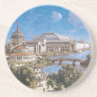 World's Colombian Exposition by Theodore Robinson Drink Coaster