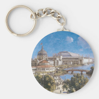 World's Colombian Exposition by Theodore Robinson Keychain