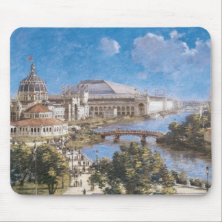 World's Colombian Exposition by Theodore Robinson Mouse Pad