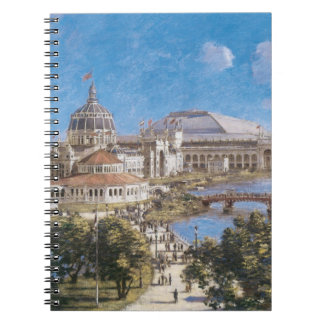 World's Colombian Exposition by Theodore Robinson Notebook