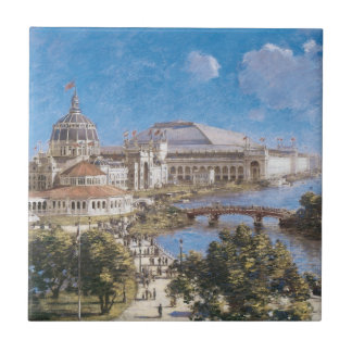 World's Colombian Exposition by Theodore Robinson Tile