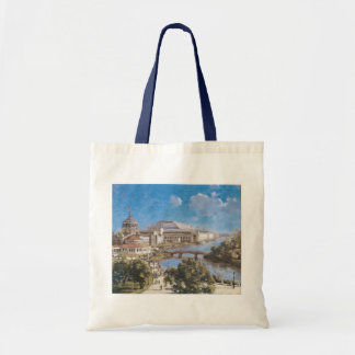 World's Colombian Exposition by Theodore Robinson Tote Bag