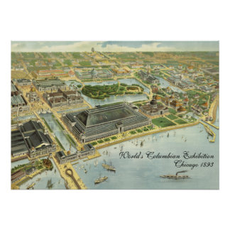 World's Columbian Exposition, Chicago, 1893 Poster