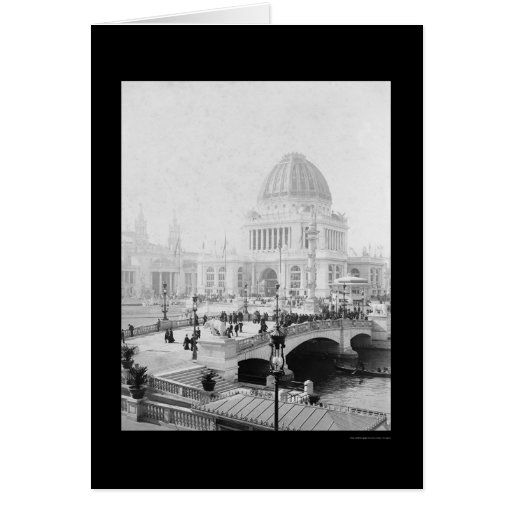 World's Columbian Exposition in Chicago 1893 Greeting Card