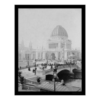 World's Columbian Exposition in Chicago 1893 Poster