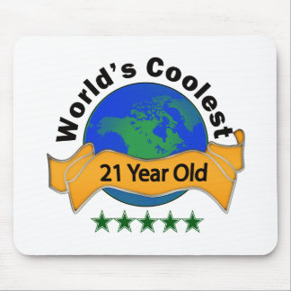 World's Coolest 21 Year Old Mouse Pad