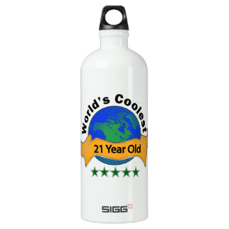 World's Coolest 21 Year Old Water Bottle