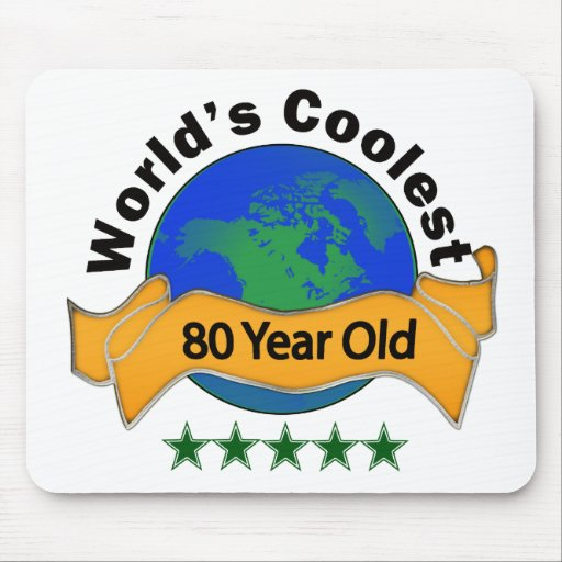 World's Coolest 80 Year Old Mousepads
