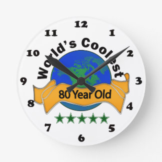 World's Coolest 80 Year Old Wall Clocks