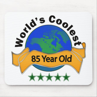 World's Coolest 85 Year Old Mouse Pad