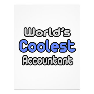 World's Coolest Accountant Flyer