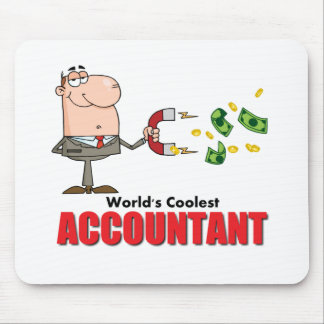 World's Coolest Accountant Mouse Pad
