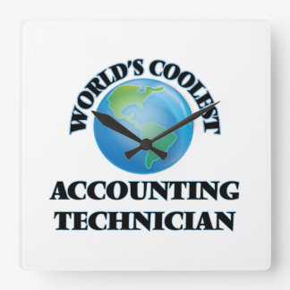 wORLD'S COOLEST aCCOUNTING tECHNICIAN Clock
