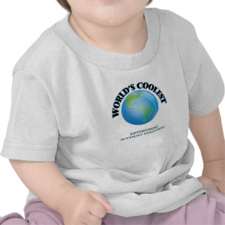 wORLD'S COOLEST aDVERTISING aCCOUNT eXECUTIVE T-shirts