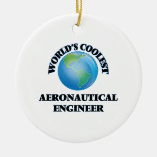 wORLD'S COOLEST aERONAUTICAL eNGINEER Christmas Ornaments