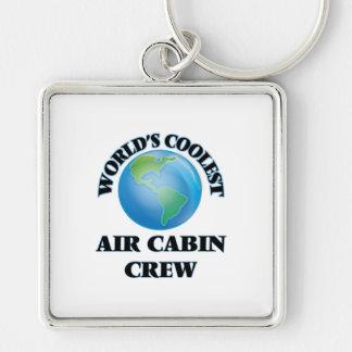 wORLD'S COOLEST aIR cABIN cREW Keychains