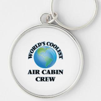 wORLD'S COOLEST aIR cABIN cREW Key Chain