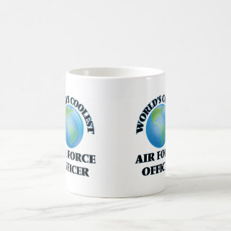 wORLD'S COOLEST aIR fORCE oFFICER Coffee Mugs