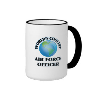 wORLD'S COOLEST aIR fORCE oFFICER Coffee Mug