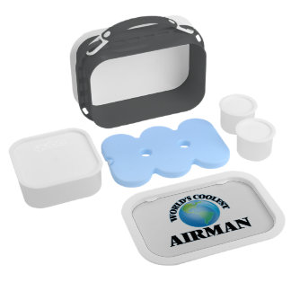 wORLD'S COOLEST aIRMAN Lunchboxes
