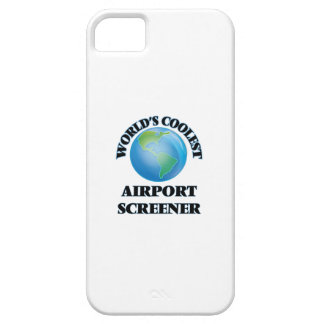wORLD'S COOLEST aIRPORT sCREENER iPhone 5 Cases