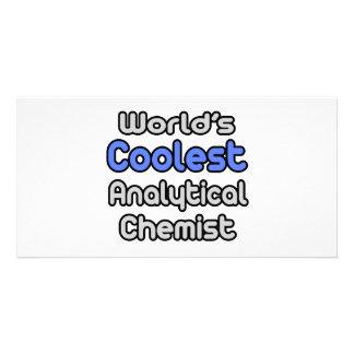 World's Coolest Analytical Chemist Photo Card