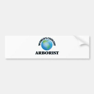 wORLD'S COOLEST aRBORIST Bumper Sticker